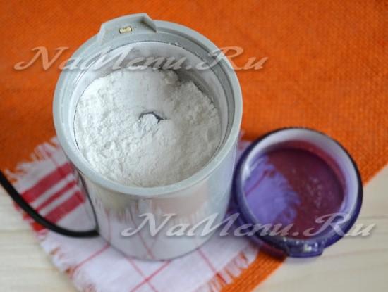 Как сделать сахарную пудру без сахарной пудры 685