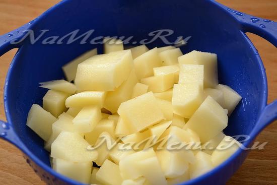 подготовьте картофель
