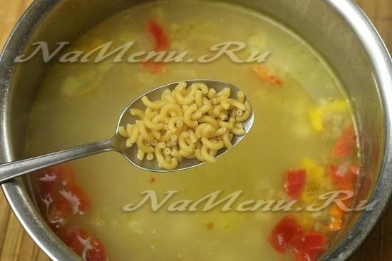 Суп из говядины с вермишелью рецепт с пошагово в