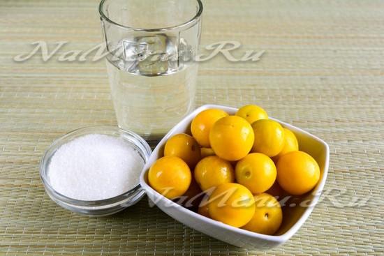 Варенье из желтой алычи с косточками рецепт на зиму