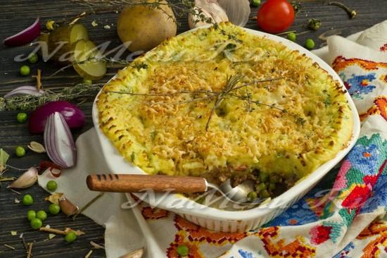 Рецепт пастушого пирога классический
