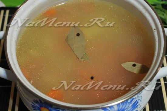 добавить в суп с лапшой специи