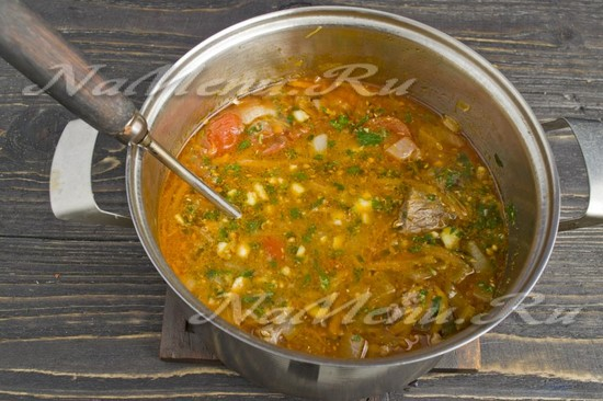 Харчо из курицы по-грузински пошаговый рецепт с фото
