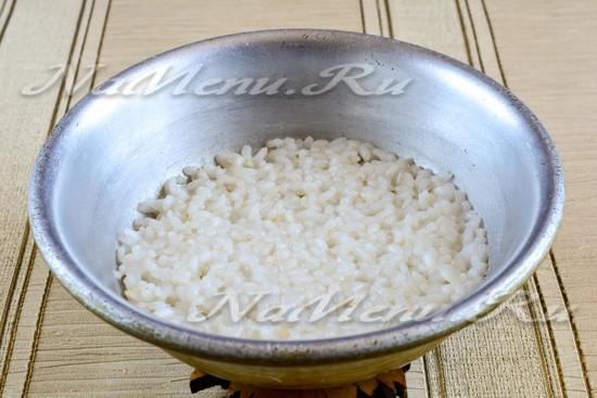 Рисовая каша на молоке как в детском саду рецепт
