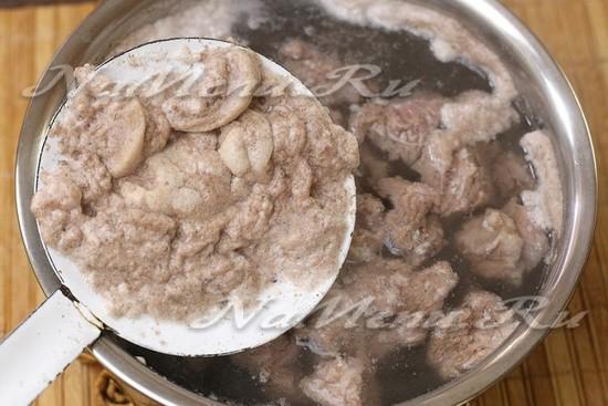 Шулюм из говядины: рецепт с фото