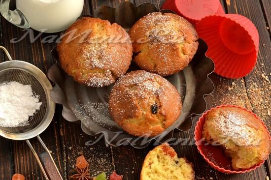 Рецепт кексов в силиконовых формочках простой рецепт с пошагово