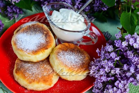 Сырники из творога и манки рецепт с пошагово пышные как в садике