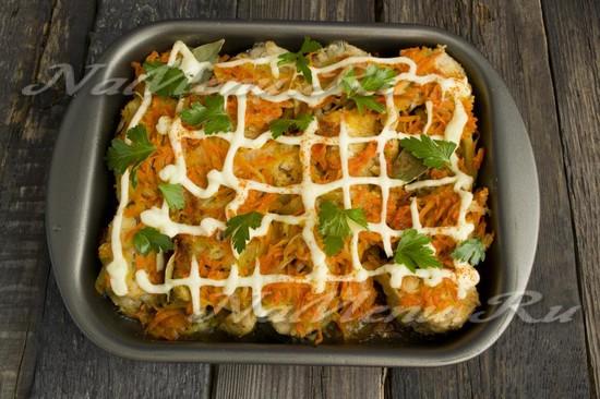 Минтай с картошкой в духовке рецепты с сыром