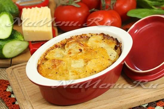 запеканка из курицы и картофеля в духовке