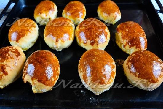 Рецепт пирожки с морковью в духовке пошаговый рецепт с фото
