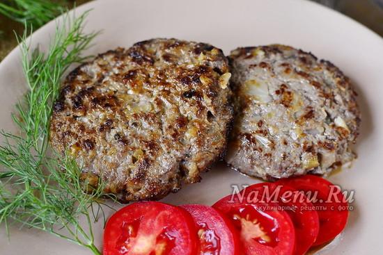 рецепт бифштекса рубленного из говядины с фото