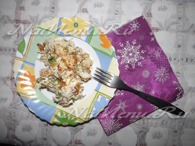 Салат нежный рецепт