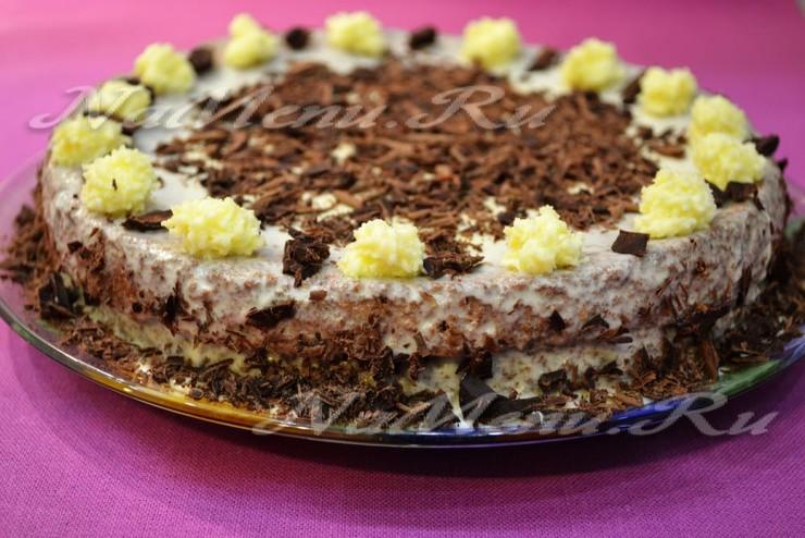 Крем для торта бисквитного