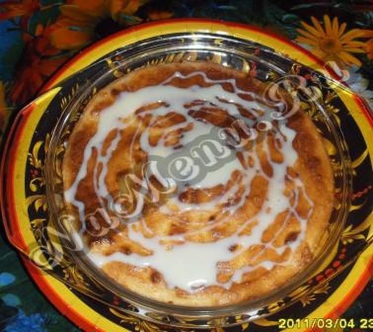 Творожная запеканка с манкой в аэрогриле пошаговый рецепт с фото