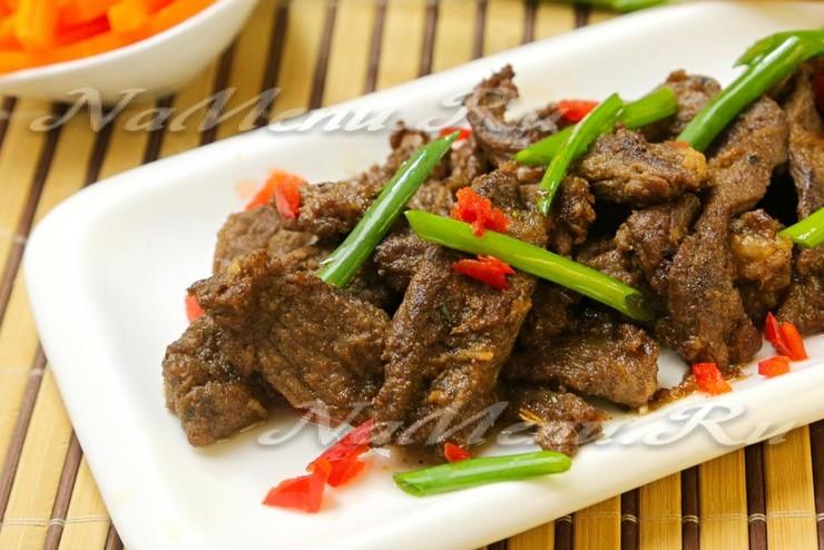 Мясо по-корейски