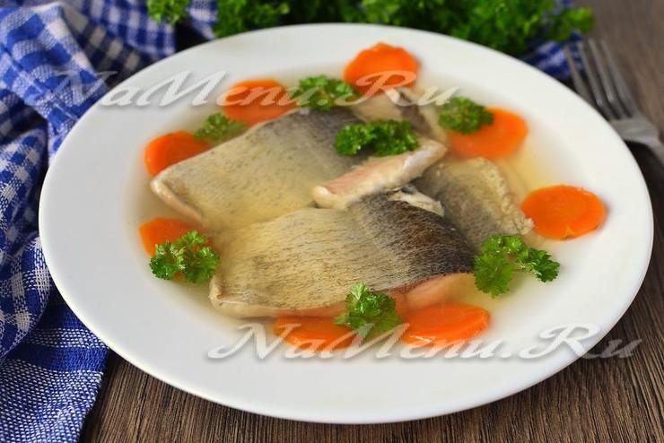 Как приготовить заливное из толстолобика - пошаговый рецепт