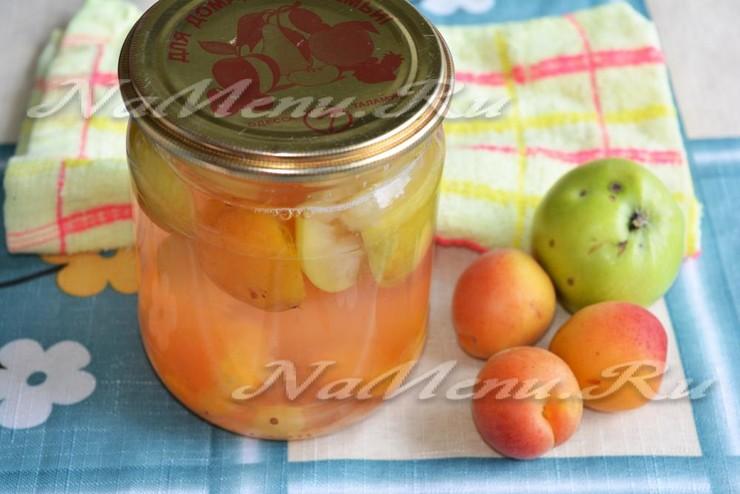 Как правильно сделать яблочный компот