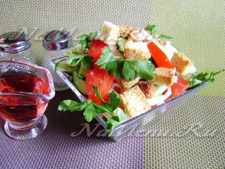 "Итальянский салат ""Панцанелла"""