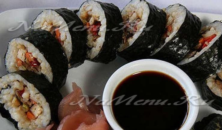 Домашний рецепт суши роллы в домашних условиях 501