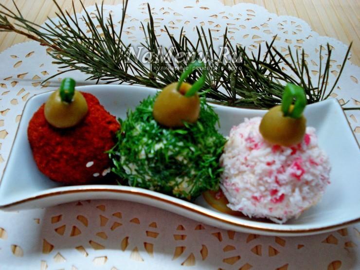 Салат елочные шары рецепт с фото