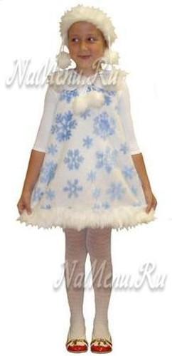 Костюм Снежинки для девочки на Новый год 2013