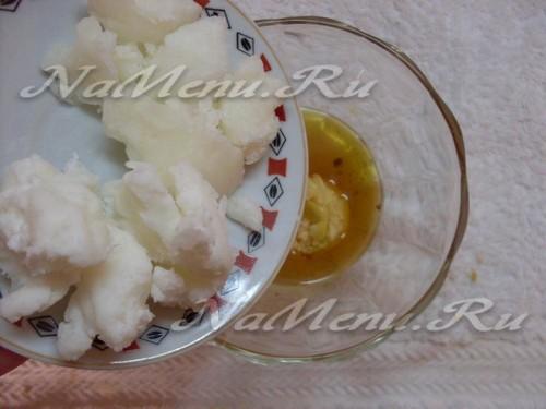 Добавляем масло кокоса