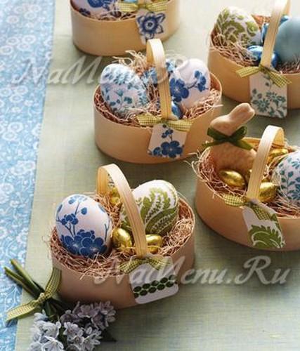 10 идей украшения пасхальных яиц
