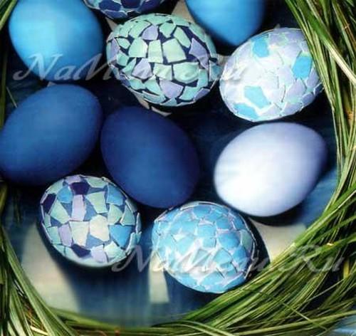 Яйца-мозаика
