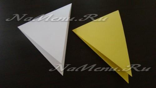 Складываем треугольники