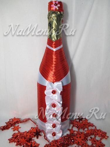 Дед Мороз из шампанского