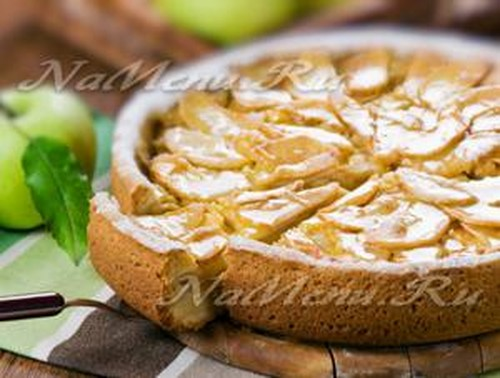 Подборка фото рецептов шарлотки с яблоками