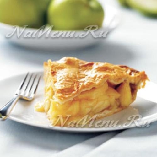 Шарлотка с яблоками в микроволновой печи