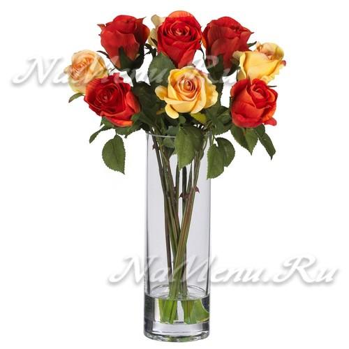 что добавить в воду, чтобы розы дольше стояли