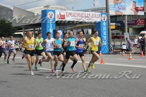 """23 Международные соревнования бегунов """"Кремлевская миля"""""""