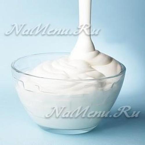 Сметана для крема