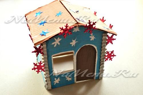 Украсить домик