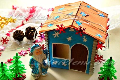 Дом для Деда Мороза