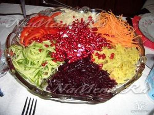Козел в огороде салат
