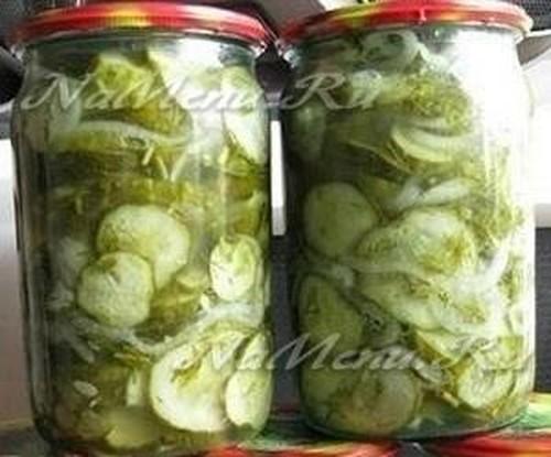 салат из огурцов на зиму с капустой стерилизация не требуется