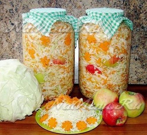 Вкусная квашеная капуста на зиму: рецепты3