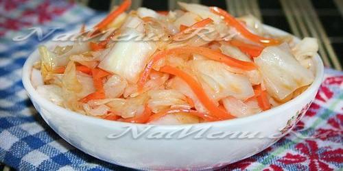 рецепты вкусной маринованной капусты