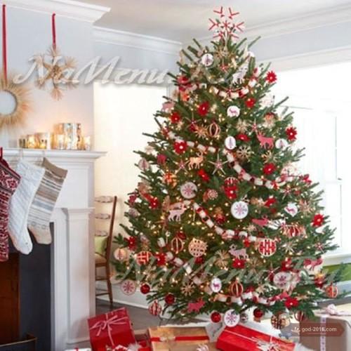 Как украсить елку в 2018 году