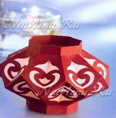 Новогодние китайские фонарики