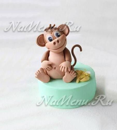 Поделки обезьяны своими руками из соленого теста 111