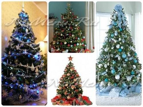 Как можно украсить комнату на Новый Год: елка