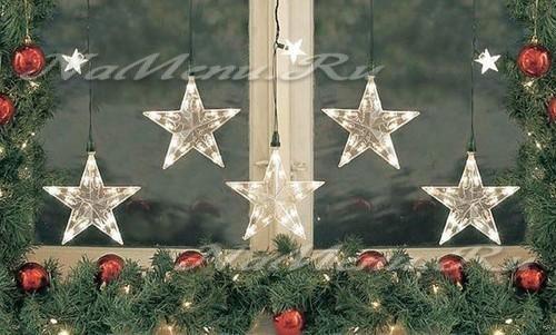 Как красиво украсить окна на Новый Год