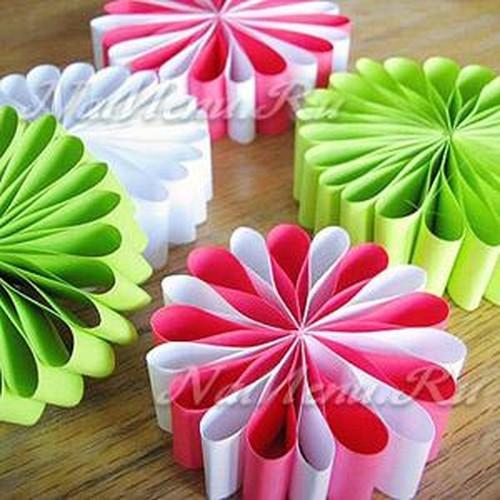 Елочные игрушки своими руками из бумаги и картона