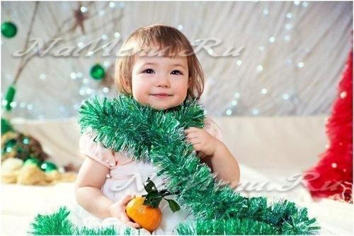 Стихи про Новый год для детей 4-5 лет в детском саду