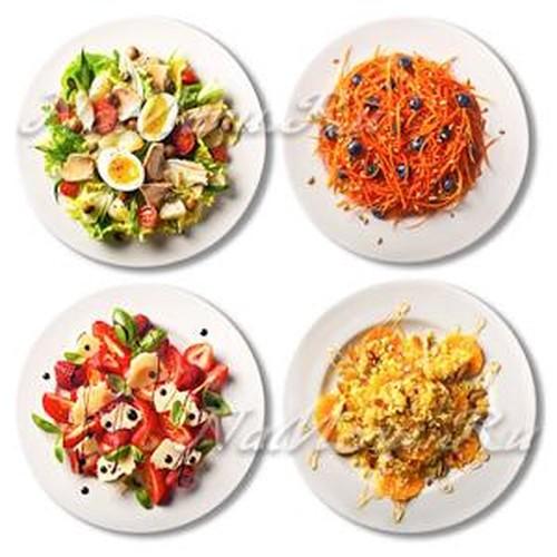 какие салаты и блюда приготовить на новый год 2018