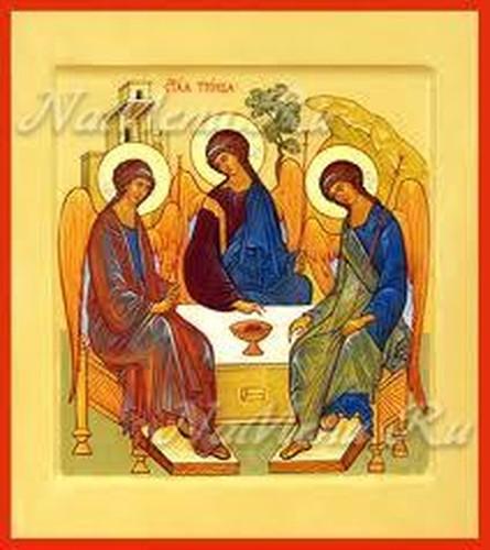 Икона праздника Троица